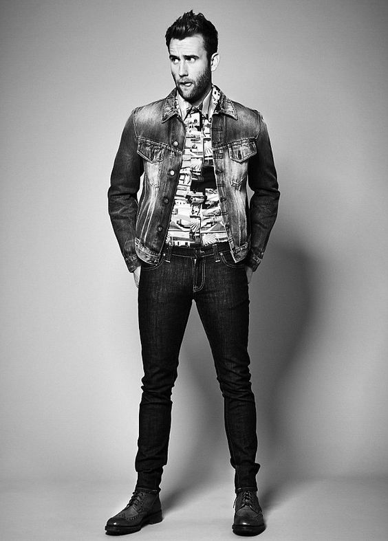 Matthew Lewis. 1. He got hot. 2. He's a Yorkshireman so that makes him hotter <3