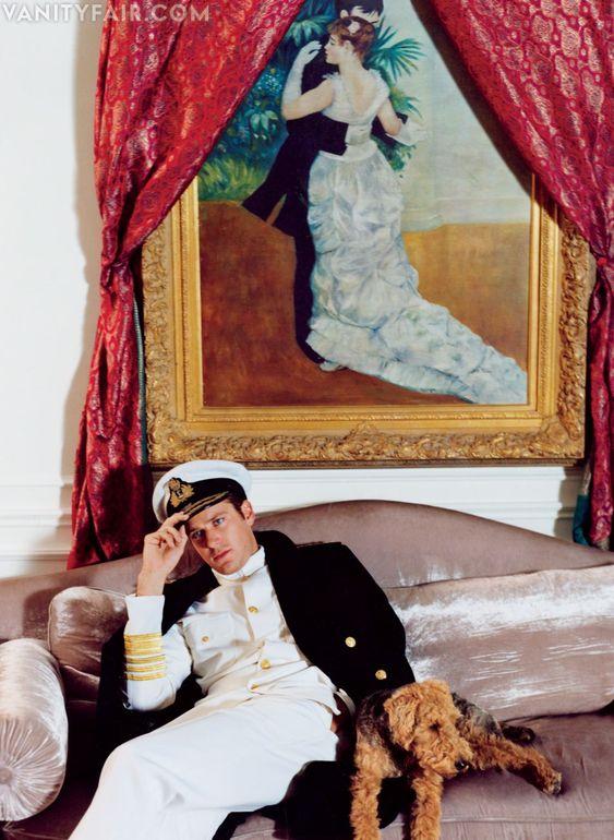 Armie Hammer for Vanity Fair's Hollywood issue 2013
