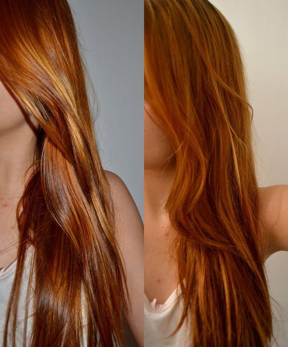 cabello cobrizo con reflejos dorados - Buscar con Google