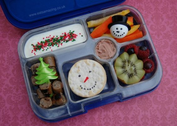 Christmas Food: 6 Simple Themed Lunch Ideas - Eats Amazing