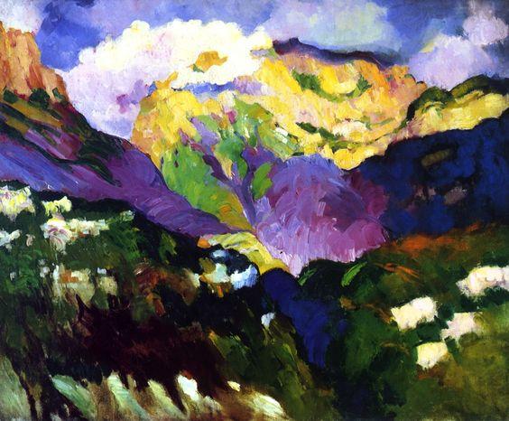 bofransson: ChamonixArthur B. Carles - circa 1912