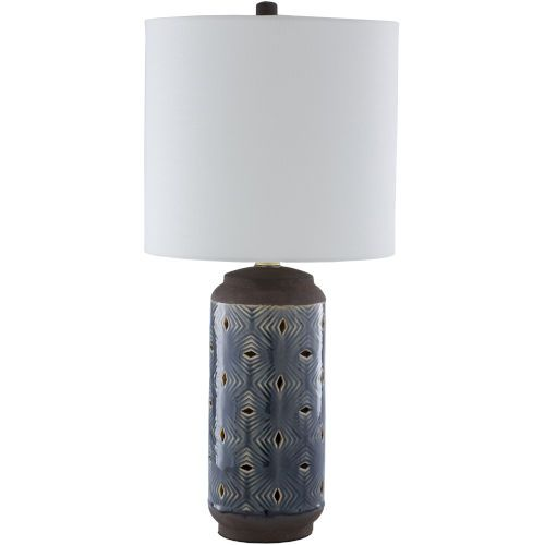 Surya Victor Blue One Light Table Lamp Vtr 001 Bellacor Table Lamp Lamp Ceramic Table Lamps