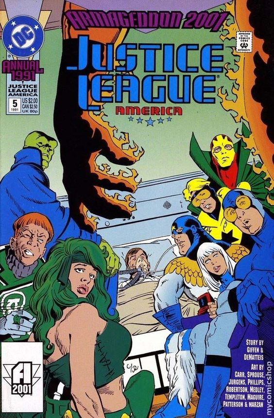Fire Justice League Annual