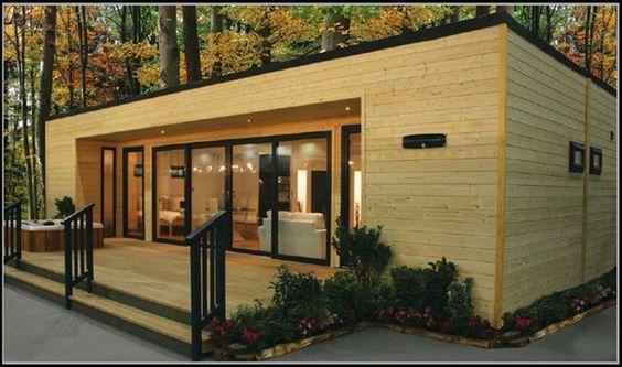 Casa movil prefabricada moderna casas m pinterest - Casa prefabricada moderna ...