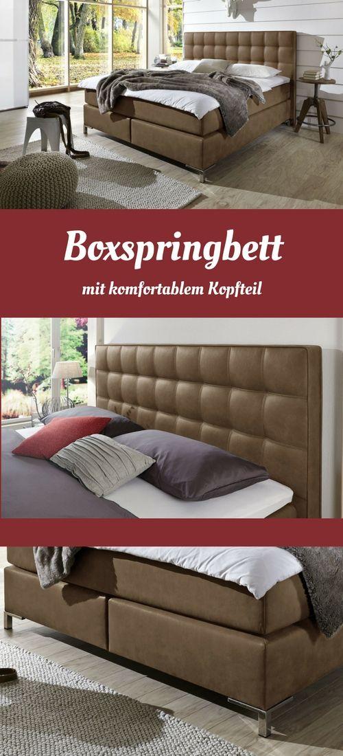 Boxspringbett Zamora Boxspringbett Bett Und Schlafzimmer