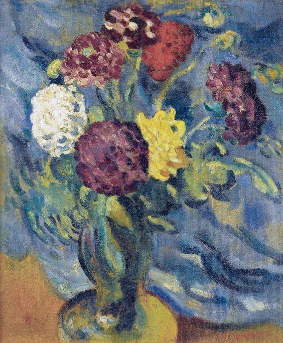 Bouquet of Flowers, 1910.  Louis Valtat