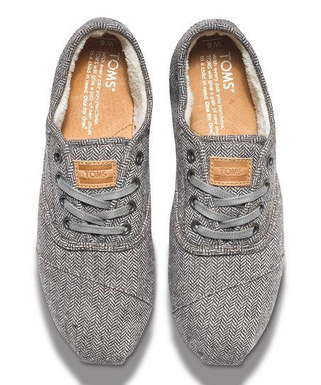 A cozy, casual shoe fit for a laid back day. With the