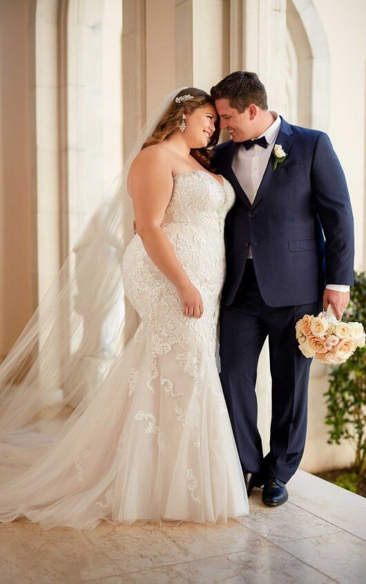 Gorgeous Wedding Dresses that Won't Break the Bank available in plus sizes