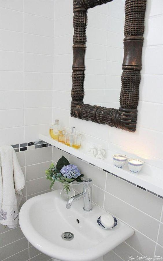 bilderleiste im kleinen bad einsetzen