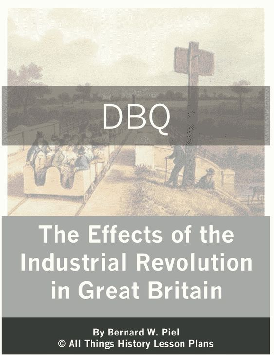 Free industrial revolution Essays and Papers - 123helpme