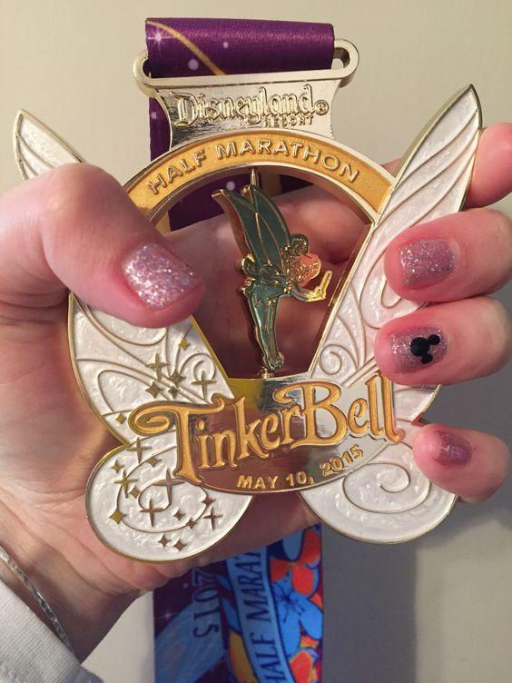 I did it! TinkerBell 1/2 Marathon!