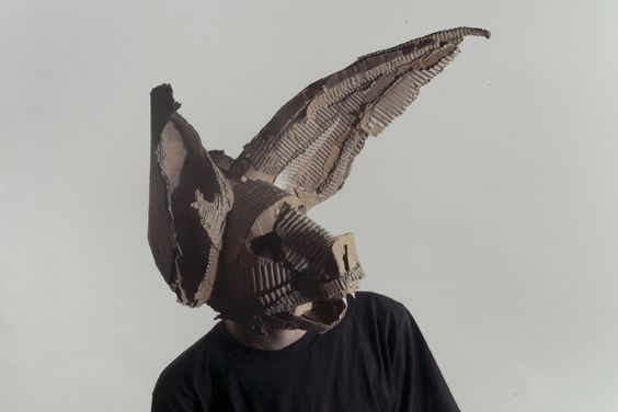 Primitive animal masks... by Jozef Mrva See more here (or click the image): http://www.justfollowthewhiterabbit.com/