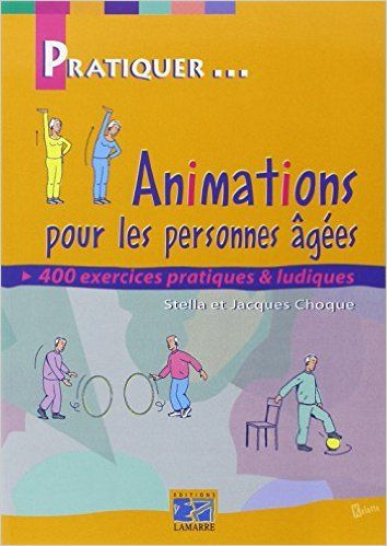 Livres and animation on pinterest - Idees cadeaux personnes agees ...