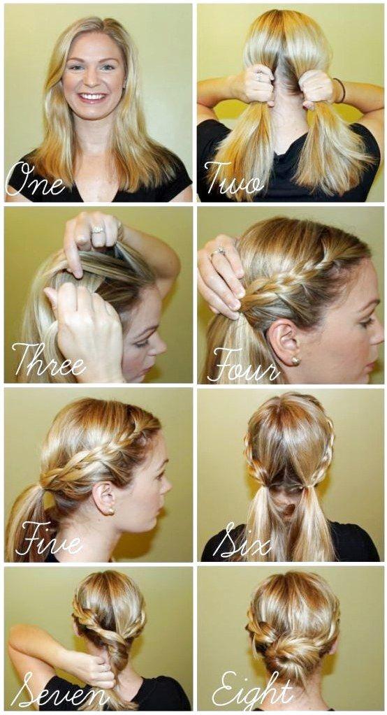 34+ Hair braid bun tutorial trends