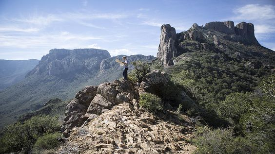 Chisos Mountains in Alpine, Texas