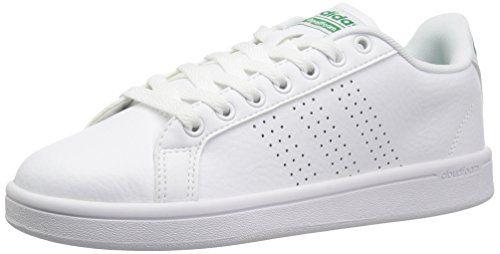 adidas NEO Men's Cloudfoam Advantage Clean Sneakers, White