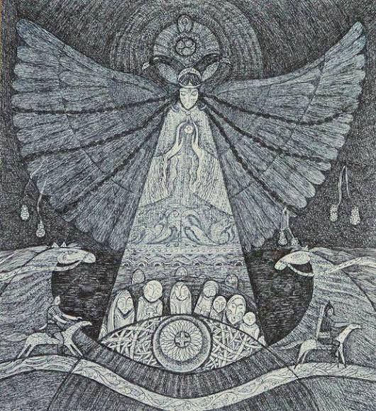 umay ana - Google Arama | Mitoloji, Şamanizm, Tanrıçalar