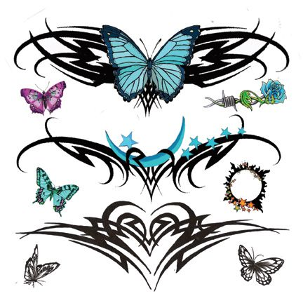 Lower Back Tribal Tattoo Art | ... be your next Tattoo for your skin. Click on the pic and download it