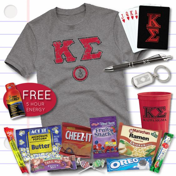 Campus Classics - New! Kappa Sig 2014 Finals Care Package, $39.95 (http://www.campus-classics.com/new-kappa-sig-2014-finals-care-package/)