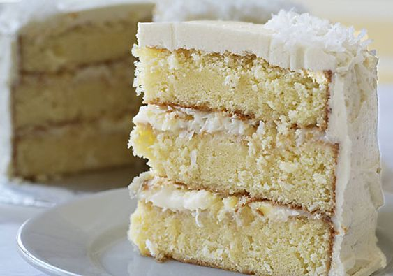 Cake Filling Recipes Without Icing Sugar: Coconut Pudding, Cake Recipes And Cakes On Pinterest