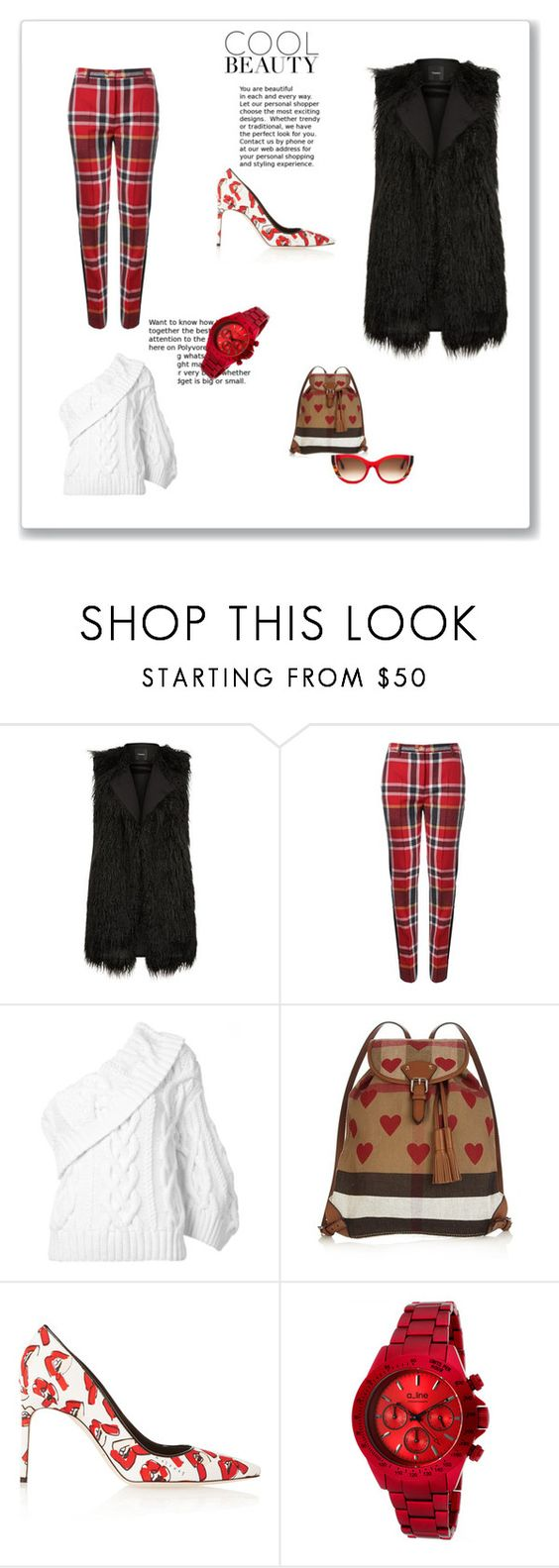 """""""GIVE'EM THE COLD SHOULDER THIS SEASON, AND HEAT UP THE ROOM"""" by g-vah-styles ❤ liked on Polyvore featuring Theory, Vivienne Westwood Red Label, Rosie Assoulin, Burberry, Brian Atwood and Thierry Lasry"""