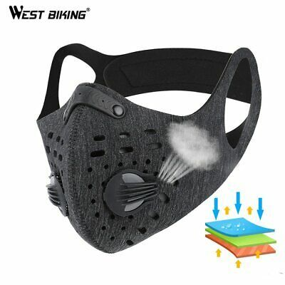 Download Free Advertisement Ebay West Biking Mask Dust Cycling Filter Outdoor Activated Carbon Face N95 Pm 2 5 In 2020 Cycling Mask Activated Carbon Bike Face Mask PSD Mockup Template