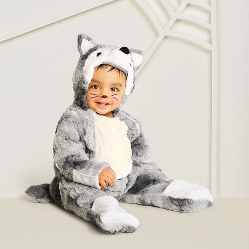 Baby Plush Wolf Halloween Costume Hyde And Eek Boutique Target Toddler Wolf Costume Baby Wolf Costume Wolf Halloween Costume