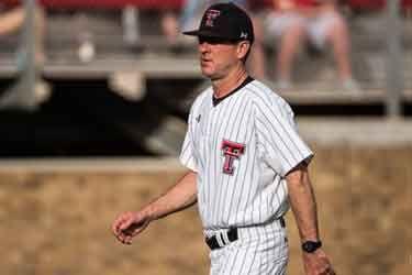 Texas Tech baseball head coach Tim Tadlock signs new deal