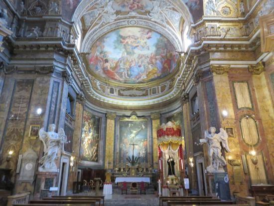 Basilica Di Sant Andrea Delle Fratte Roma