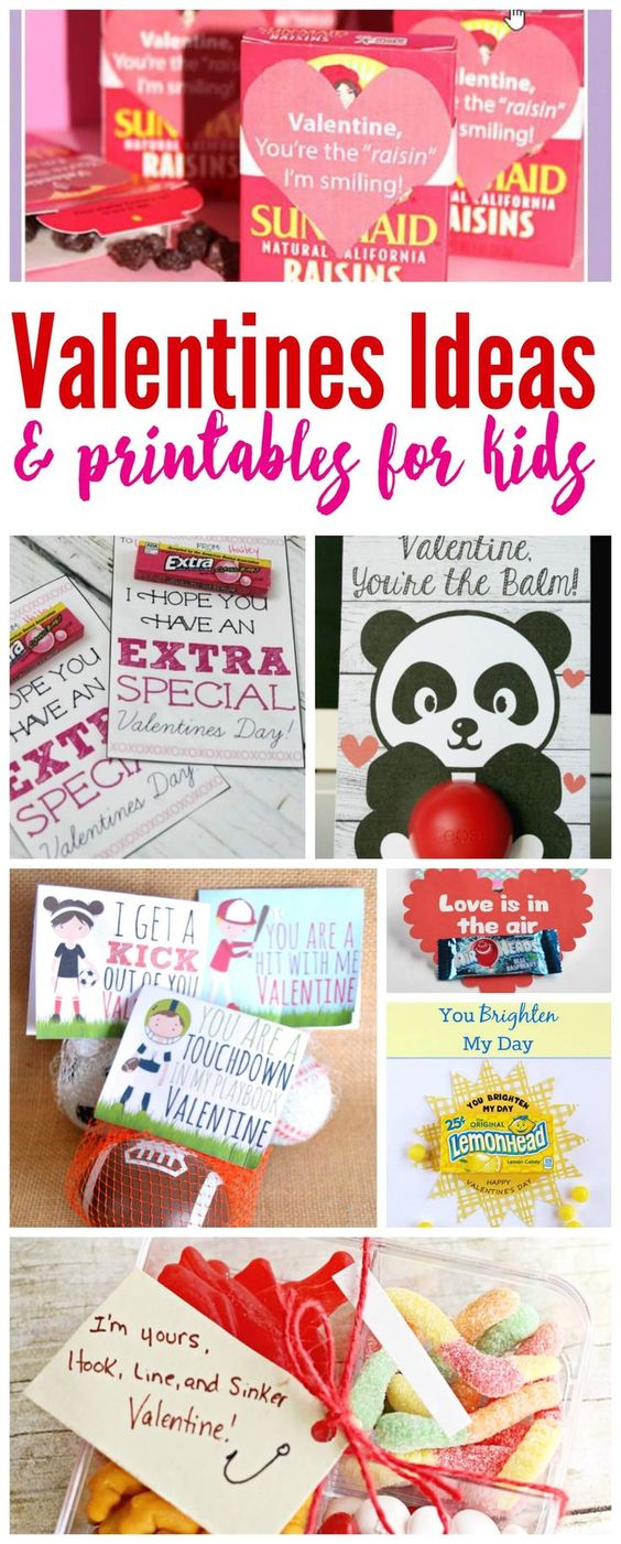 Class Valentines Ideas for Kids! Class room treats that aren't all candy!