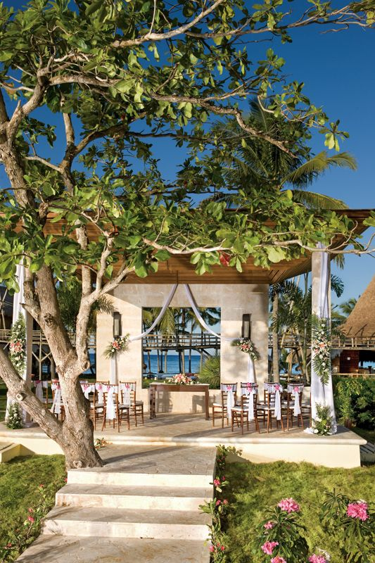 The Wedding Gazebo At Zoetry Agua Punta Cana Resort We Love Planning Weddings Here If You Would Like Our Help Let Us Know Destinationweddi
