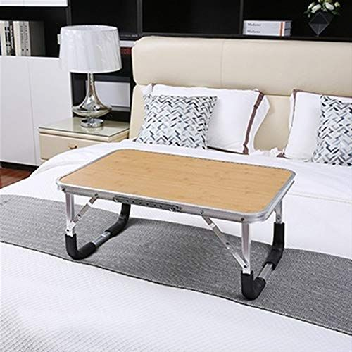 Kineede Folding Laptop Desk Dormitory Students Simple Studying Adjustable Portable Table Color Hh471700go Home Decor Portable Table Dormitory