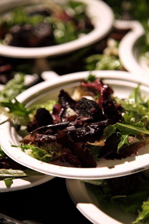 Kelly's Of Newport Black Pudding and Cashel Blue Cheese Salad | DonalSkehan.com