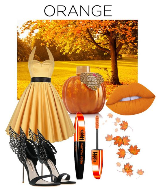 """""""Fall Beauty: Orange Crush"""" by mea213 ❤ liked on Polyvore featuring beauty, Lime Crime and L'Oréal Paris"""