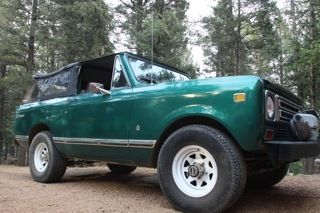 1976 International Harvester : Scout 2 door convertible