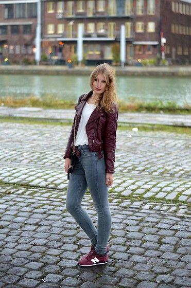new balance 410 womens burgundy jacket