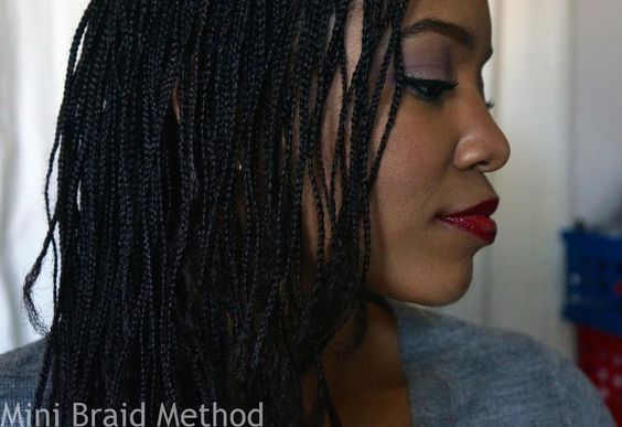 My Mini Braids Feb 2015 Long Natural Hair Natural Hair Styles Natural Hair Braids