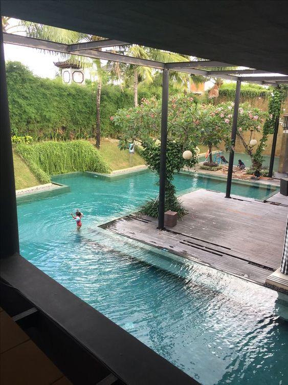 Amazing Backyard Patio Ideas With Beautiful Pool Pool Landscape Design Beautiful Pools Pool Houses
