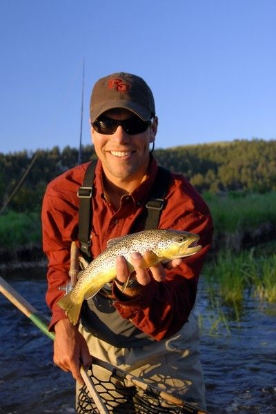 Spring fishing is picking up at The Ranch at Rock Creek in Philipsburg, Montana. The Ranch sits on a mountain-fed Blue Ribbon trout stream that is famous for its spring fly hatches and fall catches. | The world's only Forbes Travel Guide Five-Star glamping destination.