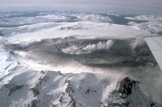 Volcán Hudson chile