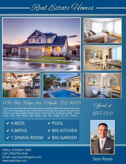 Real Estate Flyer Templates Real Estate Flyer Template Real Estate Flyers Real Estate