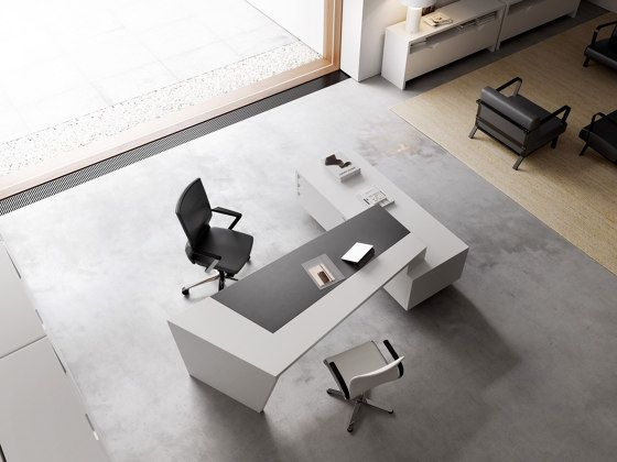 Origami Executive Desk Dark Desks From Guialmi Architonic In 2020 Office Furniture Modern Office Furniture Design Furniture Design Modern