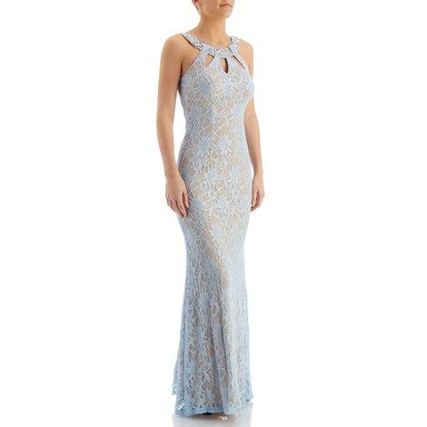 Jeweled Lace Gown - Jr.