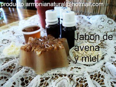 NATURALEZA PARA TÍ: jabón de avena y miel