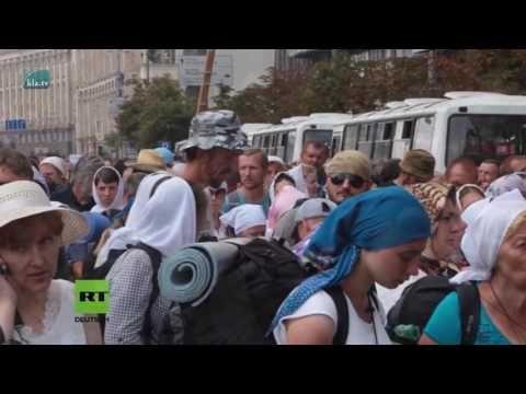 Friedensmarsch in Ukraine:Totschweigen statt Kriegsrecht