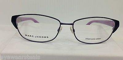 NEW AUTHENTIC MARC JACOBS MJ 330 COL PS5 PURPLE METAL EYEGLASSES FRAME