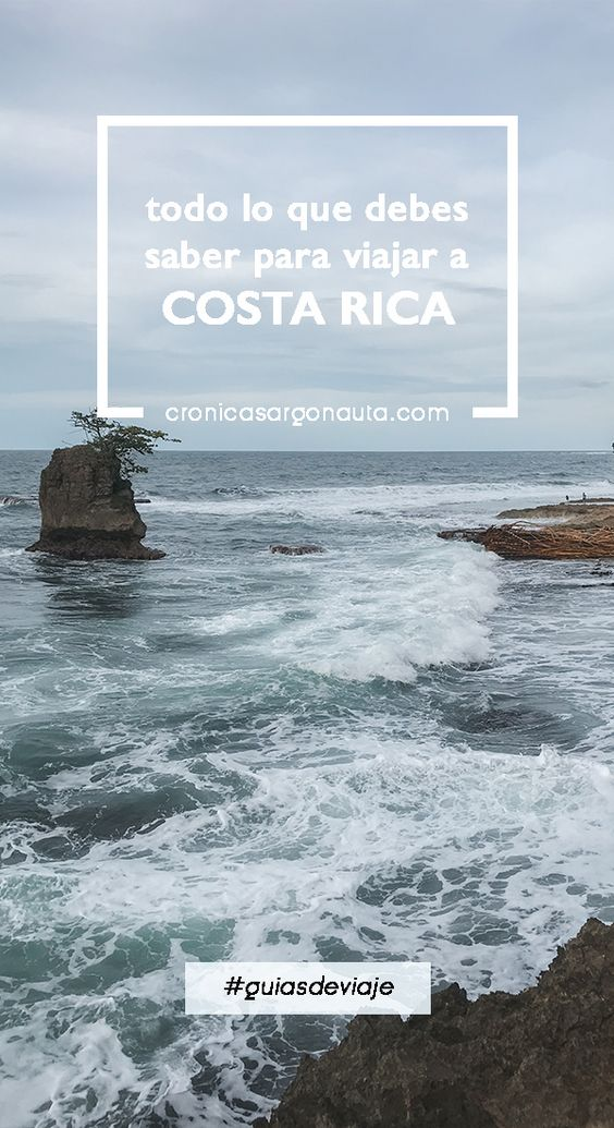 Todo lo que debes saber para viajar a Costa Rica en dos semanas.
