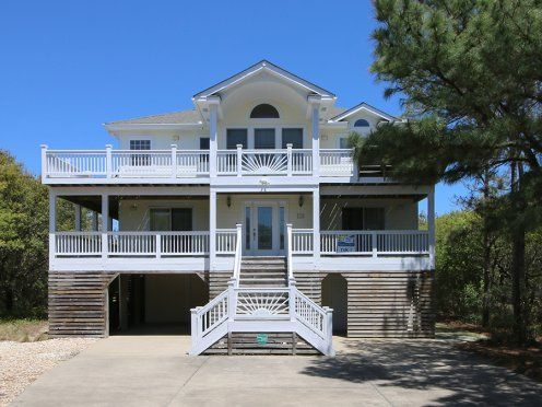 Here Comes The Sun Tuk 7 Exterior Outer Banks Vacation Rentals Outer Banks Vacation Vacation Rental