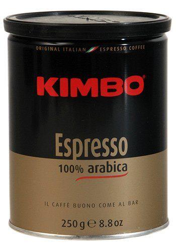 Kimbo 100% Arabica Espresso Ground Coffee – 8.8 « Lolly Mahoney