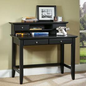 Home Styles Bedford Ebony Writing Desk